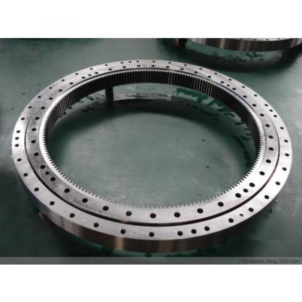 01-0342-00 Four-point Contact Ball Slewing Bearing With External Gear #1 image